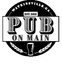 The Pub on Main Restaurant in Watkinsville GA